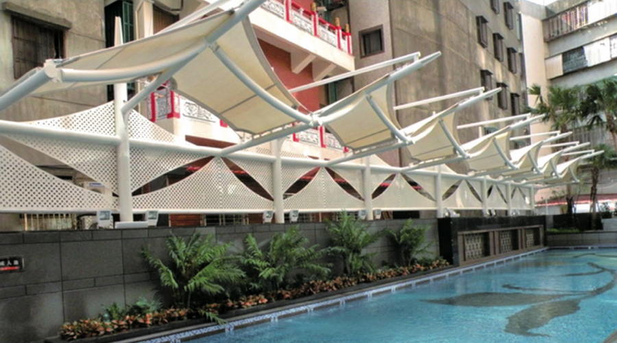 Swimming Pool Canopy